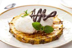 #ananas #grill #lody #omnomnom #widzimysienagrillu #obiad #mniam