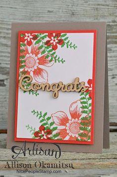 nice people STAMP!: Beautiful Bunch Card: #tgifc08