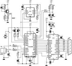 block diagram of USB2SERIAL (usb to RS485) converter