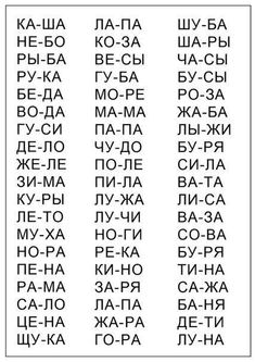 Russian Alphabet Poster for Nursery 8.5X11 by