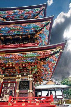 Narita Temple Pagoda Japan