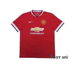 Manchester United 2014-2015 Home Shirt - Online Store From Footuni Japan #manchesterunited #manchesterunited2014 #manchesterunited2015 #manchesterunitedshirt #manchesterunitedjersey #nike - Football Shirts,Soccer Jerseys,Vintage Classic Retro - Online Store From Footuni Japan #footuni #football #soccer #footballshirt #footballjersey #soccershirt #soccerjersey #jersey #vintage #vintageclothing #vintagejersey #vintagefootballshirt #classic #retro #old #fussball #collection #collector… Nike Football, Soccer Shirts, Football Jerseys, Manchester United 2014, Manchester United Premier League, Vintage Football Shirts, Vintage Jerseys, Vintage Outfits, The Unit