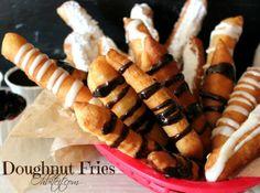 Doughnut Fries