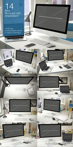 New iMac Mockup 14 PSD