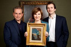 Monet discovered on BBC Fake or Fortune, Series 3 due to be televised early next year Fiona Bruce, Antiques Roadshow, Tv Presenters, Art Uk, Bbc News, Your Paintings, Monet, Britain, Public
