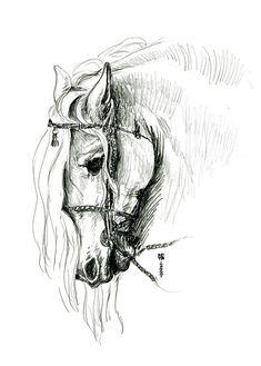 Chomping At Bit - Sketch1 Drawing