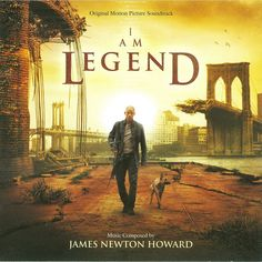 Howard - I Am Legend (original Motion Picture Soundtrack) (CD) Music Games, Music Tv, Movies Showing, Movies And Tv Shows, Aliens, Richard Matheson, 90 Songs, Legend Music, Badass Movie