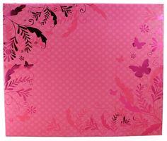 "COLORBOK 12"" x 12"" Expandable Designer Foil Scrapbook Album - Pink Flourish Colorbok,http://www.amazon.com/dp/B00BGG3VR6/ref=cm_sw_r_pi_dp_jmPEsb1NA0KNFVW8"