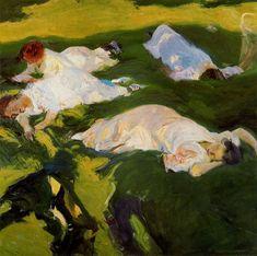 La siesta - Sorolla 1912