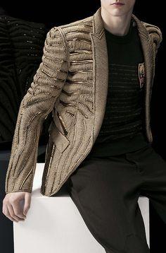 Balmain F/W 2014 / menswear / Indian Men Fashion, Mens Fashion, Fashion Moda, High Fashion, Looks Style, My Style, Balmain Men, By Any Means Necessary, Sr1
