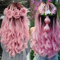 20 Rose Braid Hairstyles You Will Love in Who does not love flowers? Prepare yourselves to these prettiest rose braids trend. There is no doubt that rose braid hairstyles are the latest hairst. Pretty Hairstyles, Braid Hairstyles, Elegant Hairstyles, Rose Hairstyle, Wedding Hairstyles, Rose Braid, Rainbow Hair, Cool Hair Color, Hair Art
