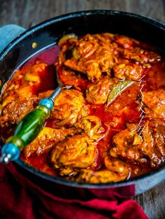 Indisk gryta med kyckling - ZEINAS KITCHEN Healthy Indian Recipes, Healthy Dinner Recipes, Appetizer Recipes, Ethnic Recipes, Zeina, Dinner On A Budget, Tamarindo, Mindful Eating, Everyday Food