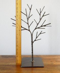 Welded Tree Jewelry Display in Brown by RagNBoneVintage on Etsy