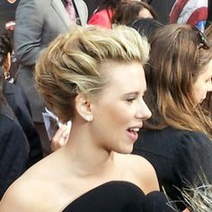 Scarlett Johansson on the @AVENGERS red carpet.  #AMCAvengers - @amctheatres- #instagram
