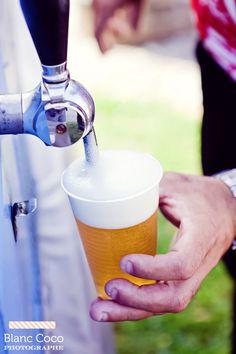 Tireuse à bière - Blanc coco photographe