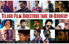 Don't Miss This Hilarious Video of Telugu Directors Take On Robbery by Navika Factory which impressed the film maker Ram Gopal Varma twice