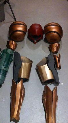 Building A Spectacular Varia Suit Samus 'Metroid' Cosplay