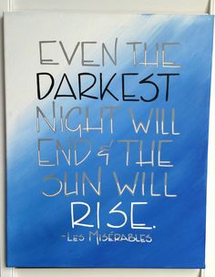 Canvas quote Hand painted 16x20 inch canvas by FrankyandJDesigns