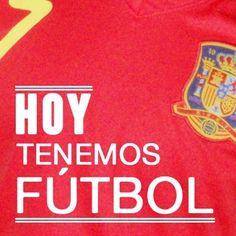 ¡Vamos España! Ven a ver el partido con nosotros.