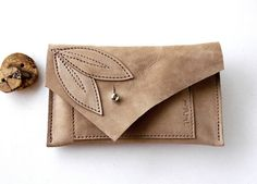 LEATHER iPhone 4 iPhone 5 Wallet Case  Gadgets by TheFigLeaf, $27.95