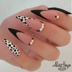 Edgy Nails, Fancy Nails, Stylish Nails, Grunge Nails, Bright Summer Acrylic Nails, Best Acrylic Nails, Disney Acrylic Nails, Black Acrylic Nails, Stiletto Nail Art
