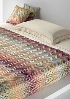 Missoni Janet Bedding by Missoni Home, 3 Colors.  www.jbrulee.com