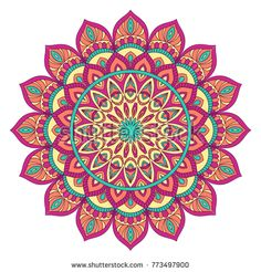 Find Ethnic Ornamental Mandala Decorative Design Element stock images in HD and millions of other royalty-free stock photos, illustrations and vectors in the Shutterstock collection. Mandala Doodle, Mandala Drawing, Mandala Pattern, Mandala Design, Mandala Floral, Graphic Patterns, Doodle Patterns, Yoga Art, Mandala Coloring