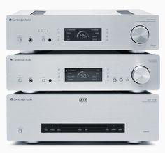 Cambridge Audio dévoile trois nouveaux produits de la série 851 ! 851D : convertisseur ; 851E : pré-amplificateur ; 851W amplificateur de puissance.