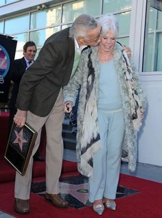 They've been married  for 70 years, if that isn't relationship goals I don't know what is <3 | Joan Lee Photos Photos - Stan Lee honored with star on the Hollywood Walk of Fame. Hollywood, CA.January 4, 2011. - Valentine Kisses 2011