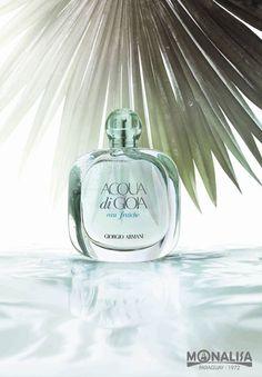 Giorgio Armani presenta Acqua Di Gioia Eau Fraîche, una nueva experiencia de feminidad natural y radiante.  Acqua Di Gioia Eau Fraîche es la versión más fresca, más luminosa y más delicada de la fragancia icónica y lo encontrás en Monalisa Paraguay.