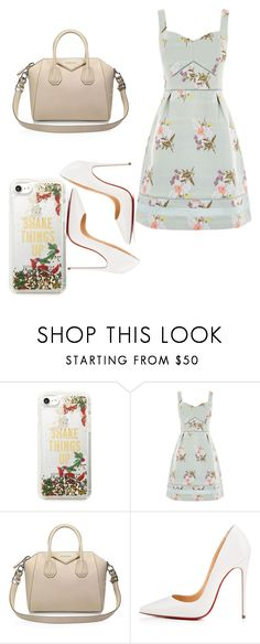 """""""Untitled #270"""" by jaykate on Polyvore featuring Kate Spade, Oasis, Givenchy and Christian Louboutin"""