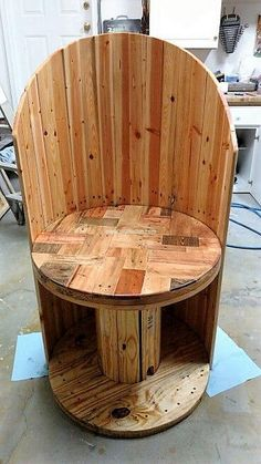 pallet cable spool recycled 3