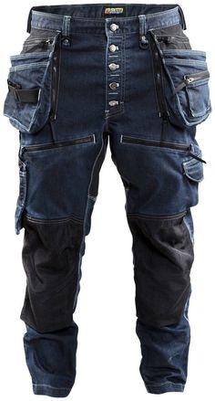 BLAKLADER Arbeitshose »1999« für 179,99€. Handwerker Bundhose mit Stretch-Einsätzen, CORDURA® 1000-verstärkte Hängetaschen, bequemer Sitz auf der Hüfte bei OTTO