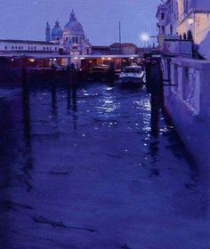 Painting by Peter Wileman.