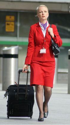 05e7da1a49 Airline Cabin Crew, Airline Travel, Air Travel, Air Hostess Uniform,  Private Plane