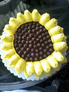 easter dessert: sunflower cake