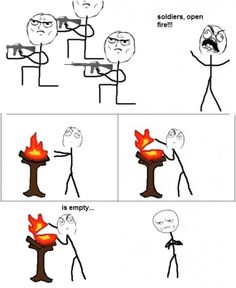 One of the best rage comic's in recent times