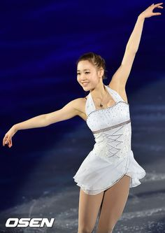 So-Yeon Park - beautiful balletic arms and fingers lending a gorgeous line on the ice!