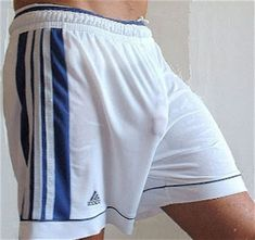 Image result for Athletes Freeballing in Mesh Shorts