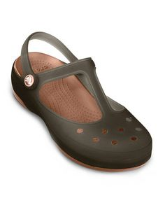 6d829febb888 Crocs Espresso   Bronze Carlie Mary Jane - Women