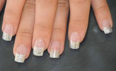 french tip fake nails | ... your tired feet gel nails softer flexible product for your nails