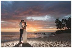 A Maui Wedding at Sunset. So romantic and beautiful!  Karma Hill Photography