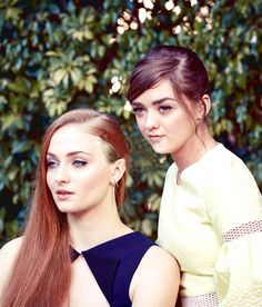 Sophie Turner, Maisie Williams – The New York Times Photoshoot March 2015 Khal Drogo, Celebrity Gossip, Celebrity News, Jon Snow, Maisie Williams Sophie Turner, Queen Of Dragons, Game Of Thrones Cast, My Champion, Hollywood Couples