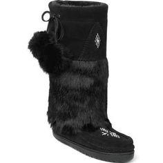 Manitobah Mukluks Snowy Owl Mukluk Black
