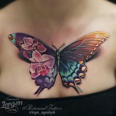 63 fabulous female tattoo design ideas - Tattoo vorlagen - Tattoo Designs for Women Nature Tattoos, Body Art Tattoos, New Tattoos, Sleeve Tattoos, Tatoos, Fake Tattoos, Hidden Tattoos, Music Tattoos, Realistic Butterfly Tattoo