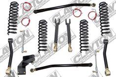 Clayton Premium Entry Level Jeep Wrangler JK 3.5 Inch Lift Kit