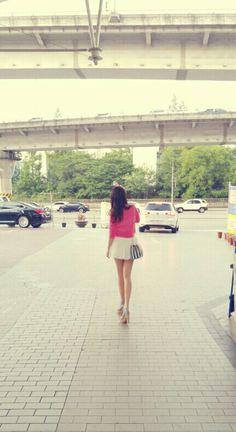 거리에서..#뒷태   #데일리룩 #일상 #선팔