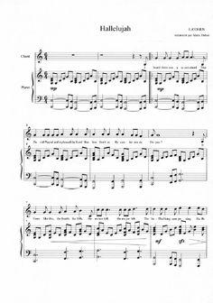 Hallelujah sheet music | Scribd