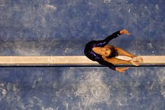 Shayla Worley Photos - Shayla Worley competes on the balance beam during day four of the 2008 U. Olympic Team Trials for gymnastics at the Wachovia Center on June 2008 in Philadelphia, Pennsylvania. Us Olympic Gymnastics Team, Olympic Team, Gymnastics Things, Balance Beam, Grand Hotel, Front Row, Olympics, Trials, Sports
