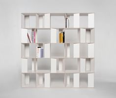 The Necessity of Other by Hanna Krüger and Jakob Gebert Dailytonic Study Room Design, Home Library Design, Wall Design, Home Interior Design, Bookshelf Design, Bookcase Shelves, Minimalist House Design, Minimalist Home, Cabinet Furniture